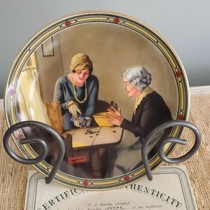 A Family's Full Measure collector plate